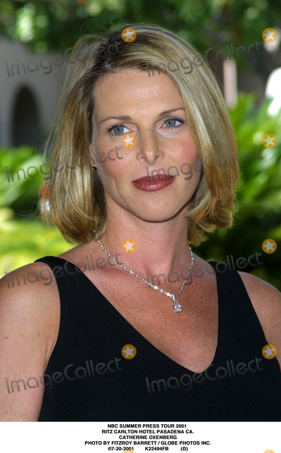 RITZ CARLTON Photo - NBC Summer Press Tour 2001 Ritz Carlton Hotel Pasadena CA Catherine Oxenberg Photo by Fitzroy Barrett  Globe Photos Inc 7-20-2001 K22494fb (D)