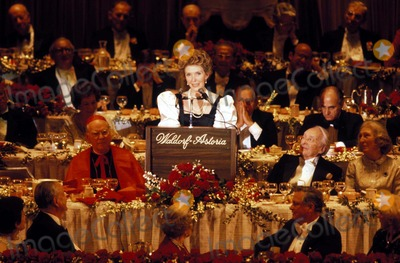 Al Smith Photo - Nancy Reagan at the AL Smith Dinner New York City 1981 Photo by James ColburnipolGlobe Photos Nancyreaganretro