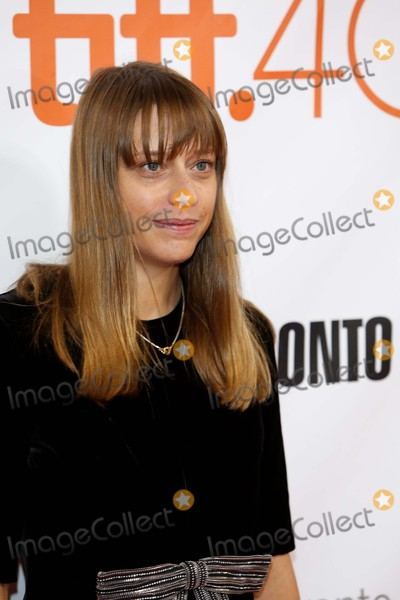Alice Winocour Photo - Director Alice Winocour attends the Premiere of Disorder During the 40th Toronto International Film Festival Tiff at Roy Thomson Hall in Toronto Canada on 17 September 2015 Photo Alec Michael
