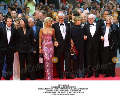 Michele Morgan Photo - Fif Cannes Hommage a Gerard Oury Michel Morgan  Gerarard Oury Daniele Thomson  Jean-paul Belmondo Et Son Epouse ImapressGlobe Photos Inc - Nice Matin Festival DE Cannes