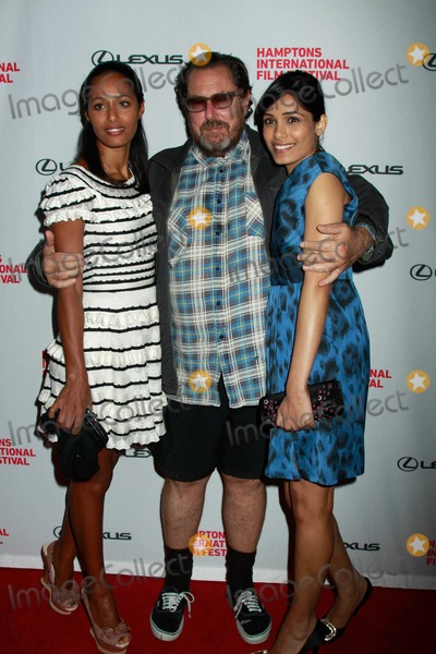 Rula Jebreal Photo - The Hamptons International Film Festival Miral Screening 2 Regal East Hampton Cinema 10-09-2010 Rula Jebreal Julian Schnabel Frieda Pinto Photo by Sonia Moskowitz-Globe Photos Inc 2010
