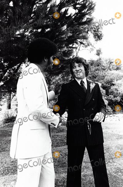 Michael Cole Photo - Michael Cole Paula Dickinson Kelly Wedding 1971 Photo by Peter Sorel--Globe Photos Inc