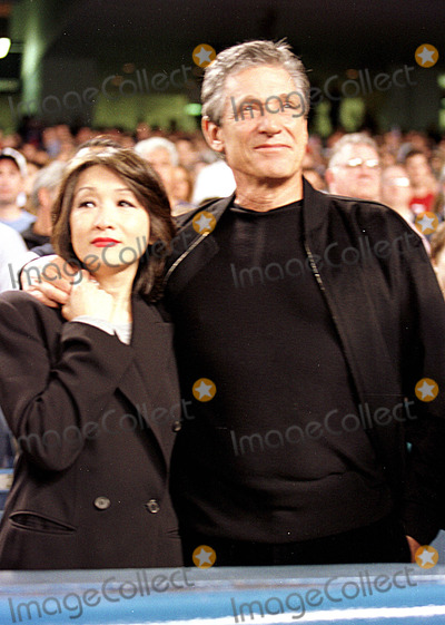 Maury Povich Photo - Sd010925 Connie Chung and Maury Povich First Game at Yankee Stadium Since the Attack NY Yankees Vs Tampa Bay Devil Rays Yankee Stadium 161st Bronxny PhotolcavGlobe Photos Inc