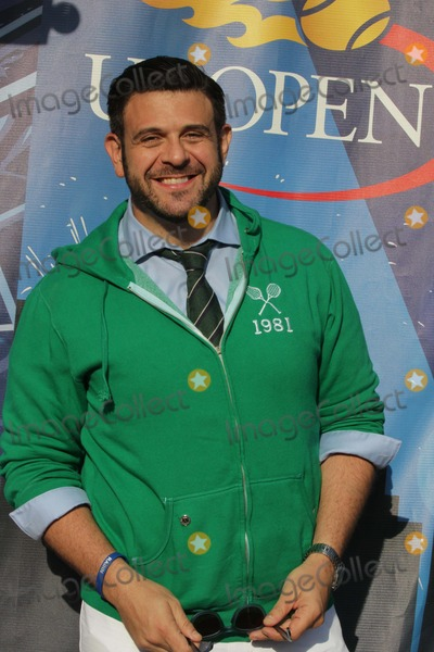 Adam Richman Photo - Adam Richman Man V Food Food Realty Tv Show at Us Open Tennis Day 4 at Arthur Ashe Stadium 8-28-2014 John BarrettGlobephotos