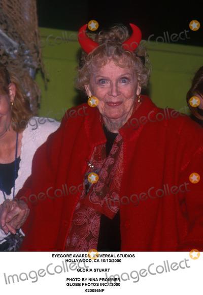 Gloria Stuart Photo - Eyegore Awards Universal Studios Hollywood CA 10132000 Gloria Stuart Photo by Nina Prommer Globe Photos Inc2000