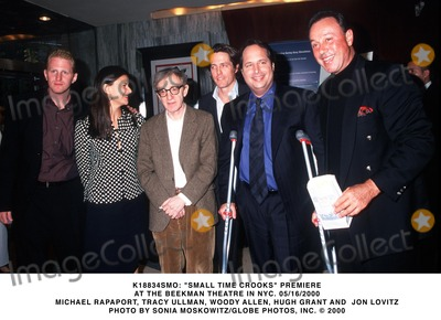 Allen Hughes Photo -  Small Time Crooks Premiere at the Beekman Theatre in NYC 05162000 Michael Rapaport Tracy Ullman Woody Allen Hugh Grant and Jon Lovitz Photo by Sonia MoskowitzGlobe Photos Inc
