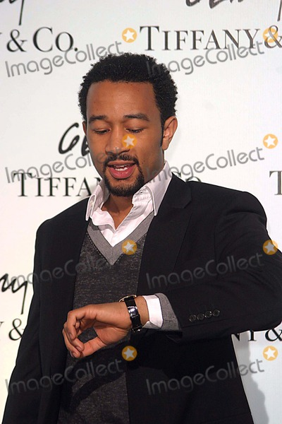 Tiffany Photo - Tiffany  Company Celebrates the Launch of Frank Gehrys Premiere Collection on Rodeo Drive Beverly Hill CA 03-26-2006 Photo Ed Geller-Globe Photos Inc 2006 John Legend