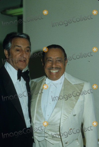 Danny Thomas Photo - Danny Thomas with Cab Calloway E0834 Photo by Nate Cutler-Globe Photos Inc