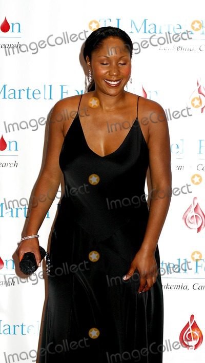 Aisha Morris Photo - the 29th Annual Tj Martell Foundation Award Gala Concert Hilton Hotel New York City 05272004 Photo Mitchell Levy  Rangefinders  Globe Photos Inc 2004 Aisha Morris (Stevie Wonders Daughter)