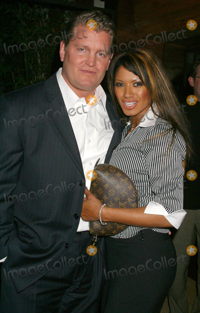 Tracy Bingham Photo - Hollywood Car Club Launch Party Chi Restaurant West Hollywood California 031004 Photo by Clinton H WallaceipolGlobe Photos Inc2004 Traci Bingham and Fiance John Yarbough