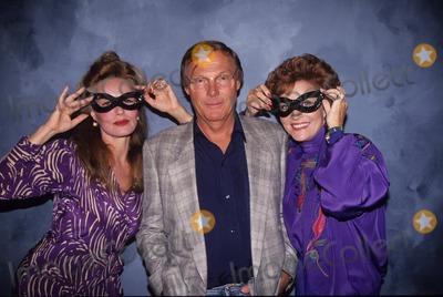 Adam West Photo - Adam West with Julie Newmar and Lee Marriweather 16404 Photo by Judie Burstein-Globe Photos Inc