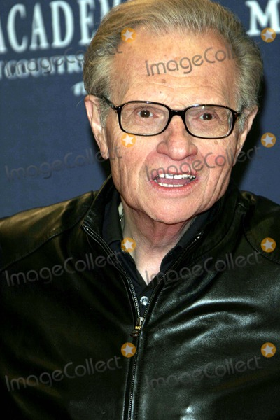 Larry King Photo - Larry King - 40th Academy of Country Music Awards - Arrivals - Mandalay Bay Casinolas Vegas CA - 05-17-2005 - Photo by Nina PrommerGlobe Photos Inc2005 -