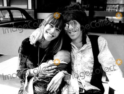 Anita Pallenberg Photo - Anita Pallenberg_keith Richards Globe Photosinc