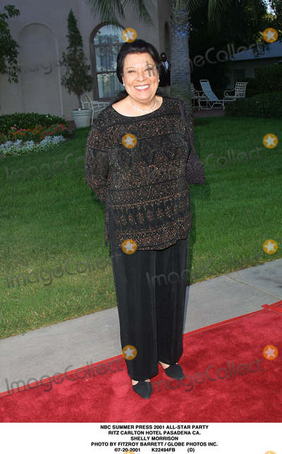 RITZ CARLTON Photo - NBC Summer Press 2001 All-star Party Ritz Carlton Hotel Pasadena CA Shelly Morrison Photo by Fitzroy Barrett  Globe Photos Inc 7-20-2001 K22494fb (D)