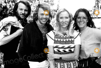 Agnetha Faltskog Photo - Benny Anderson Bjorn Ulvaeus Agnetha Faltskog and Anni-frid Lyngstad of Abba 1978 SmpGlobe Photos Inc