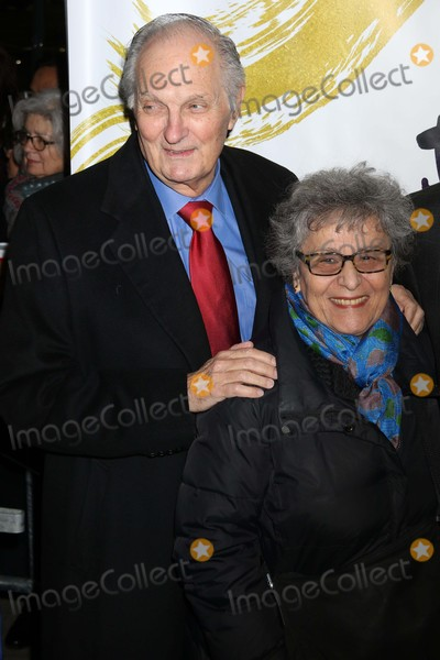 Alan Alda Photo - Alan Alda Wife Arlene  at Opening of Fiddler on the Roof at Broadway Theatre 1681 Broadway 12-20-2015 John BarrettGlobe Photos 2015