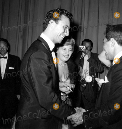 Anthony Franciosa Photo - Shelley Winters and Anthony Franciosa Backstage at the a Party Photo Globe Photos Inc Shelleywintersretro