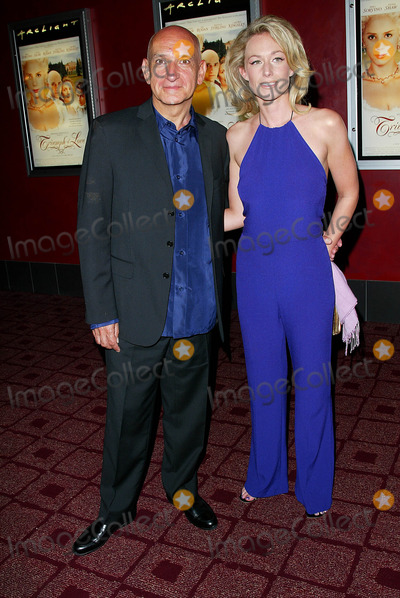 Alexandra Christmann Photo - Triumph of Love Premiere at Arclight Cineramadome Theater in Los Angeles CA Sir Ben Kingsley and Alexandra Christmann Photo by Fitzroy Barrett  Globe Photos Inc 4-11-2002 K24647fb (D)
