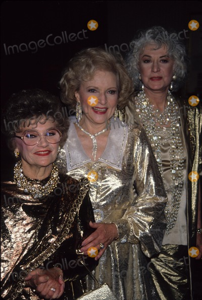 Betty White Photo - Bea Arthur Betty White Estelle Getty 1990 A6049 Photo by Adam Scull-Globe Photos Inc