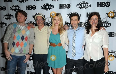 April Bowlby Photo - Clay Aiken Actors Ben Feldman and April Bowlby attending the 29th Annual Gay  Lesbian Film Festival Screening of Drop Dead Diva Held at the Directors Guild of America in West Hollywood California on 71711 Photo by D Long- Globe Photos Inc
