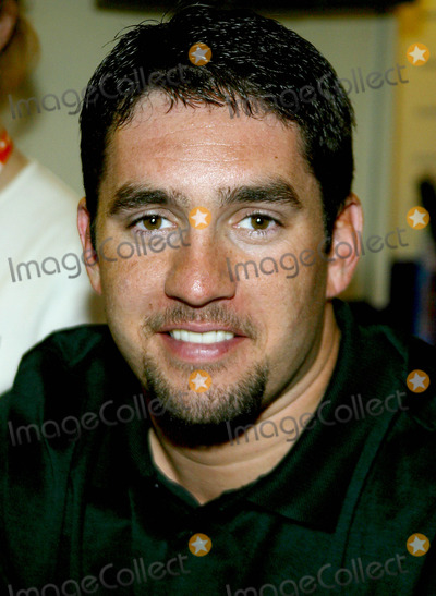 NASCAR DRIVERS Photo - (mm) Nascar Driver Elliott Sadler Makes an Appearance at the Licensing Show 2003 at the Jacob K Javits Convention Center in New York City 6102003 Photo Byrick MacklerrangefindersGlobe Photos Inc
