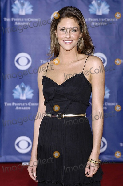 Jill Wagner Photo - Peoples Choice Awards Arrivals Held at the Shrine Auditorium in Los Angeles CA 01-10-2006 Photo Hakim Photos-Globe Photos Inc 2006 Jill Wagner