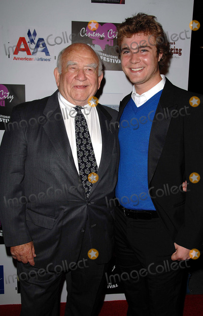 Alex Black Photo - Annual Cinema City International Film Festival Opening Night at Universal Amc Theaters at Universal Studios Citywalk in Universal City CA 09-29-2008 Image Ed Asner and Alex Black Photo Scott Kirkland  Globe Photos