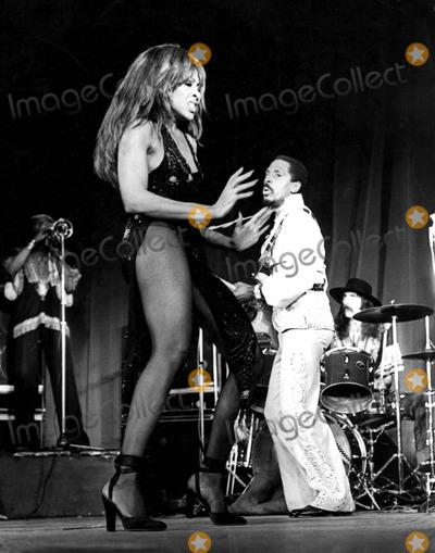 Tina Turner Photo - Tina and Ike Turner Supplied by Globe Photos Inc
