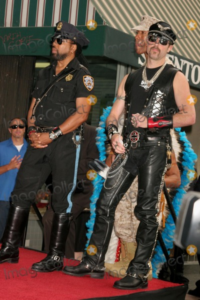 Village People Photo - the Village People Honored with a Star on the Hollywood Walk of Fame Hollywood Blvd Hollywood CA 091208 Eric Anzalone and Ray Simpson of the Village People Photo Clinton H Wallace-photomundo-Globe Photos Inc