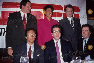 Arthur Ash Photo - Arthur Ashe with R Roberts Bill Murray Steve Bornstein and D Miller at the Am Sports Awards 1992 L4527 Photo by Stephen Trupp-Globe Photos Inc