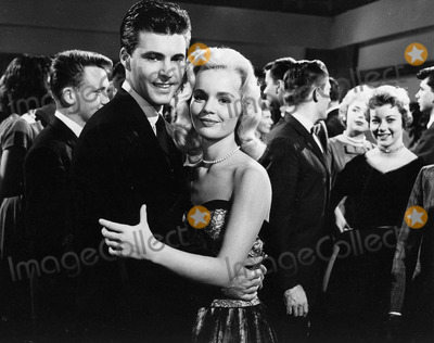 Tuesday Weld Photo - Rick Nelson with Tuesday Weld 1960photo by smp-globe Photos Inc