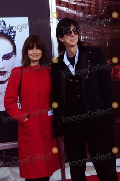 Ric Ocasek Photo - Paulina Porizkova and Ric Ocasek the Premiere of Black Swan at the Ziegfeld Theater in New York City on 11-30-2010 Photo by Ken Babolcsay - Ipol-Globe Photos Inc 2010