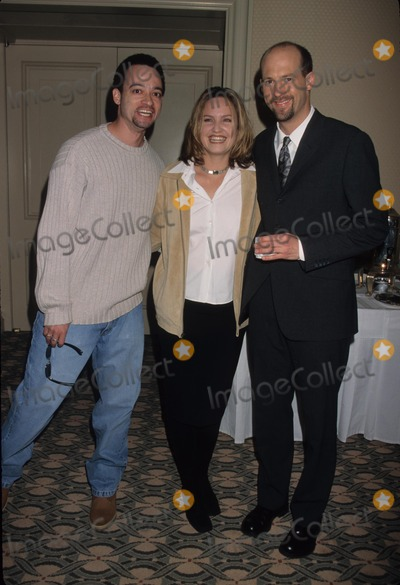 Anthony Edwards Photo - Sherry Stringfield with Christopher Reid Anthony Edwards NBC Tca Press Tour Ritz Carlto Pasadena 1999 K14529lr Photo by Lisa Rose-Globe Photos Inc
