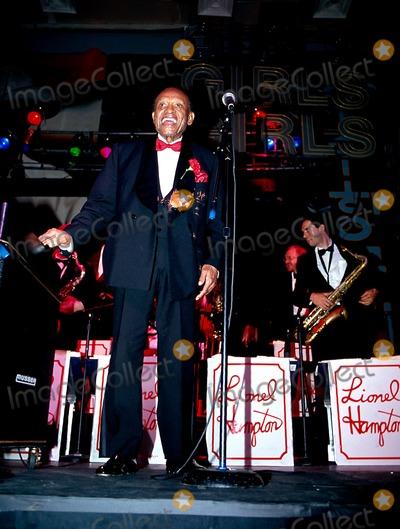 Lionel Hampton Photo - Sd0421 Lionel Hampton 85th Birthday Bruce Lynn Photo Bymitchell LevyrangefindersGlobe Photos Inc