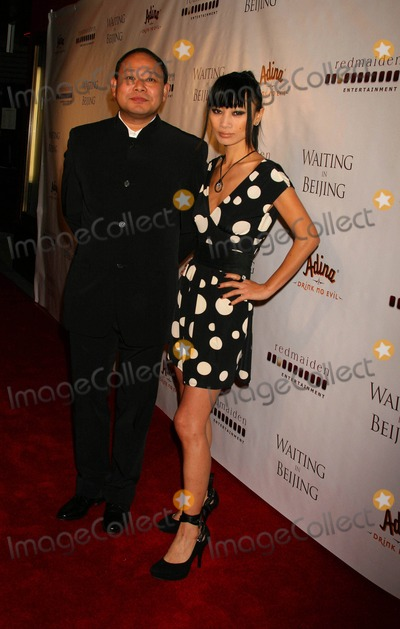 Alan Zhang Photo - Waiting in Beijing North American Premiere Fine Arts Theatre Beverly Hills California 12-10-2008 Bai Ling and Alan Zhang Photo Clinton H Wallace-photomundo-Globe Photos Inc