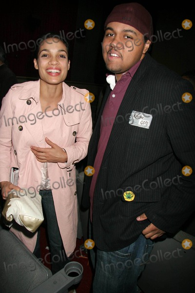 Al Be Back Photo - 2006 Pan African Film Festival spt World Premiere Screening Hosted by Rosario Dawson Magic Johnson Theatres Los Angeles CA 02-11-2006 Photo Clinton Hwallace-photomundo-Globe Photos Inc Rosario Dawson and Albert Daniels - Aka AL Be Back