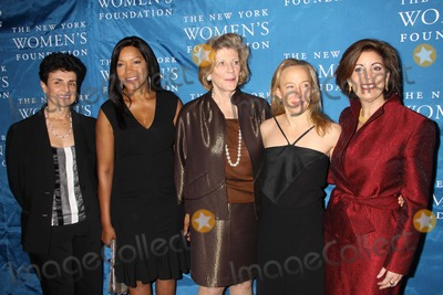 Agnes Gund Photo - Ana Loliveiragrace Hightoweragnes Gund Hyatt Basscarolyn Buck Luce at NY Womens Foundations Stepping Out and Stepping Upannual Gala at Gotham Hall New York City 12-01-2010 Photo by John BarrettGlobe Photos Inc2010