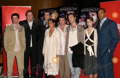 Angus MacFadyen Photo - K36475KIWORLD PREMIERE OF USA NETWORKS EPIC MINISERIES SPARTACUS AT THE DGA THEATRE IN HOLLYWOOD CA04062004PHOTO BY KATHRYN INDIEKGLOBE PHOTOS INC 2004L TO R JAMES FRAIN PAUL KYNMAN GORAN VISNJIC RHONA MITRA ANGUS MACFADYEN JACK HUSTON GEORGINA RYLANCE AND HENRY SIMMONS