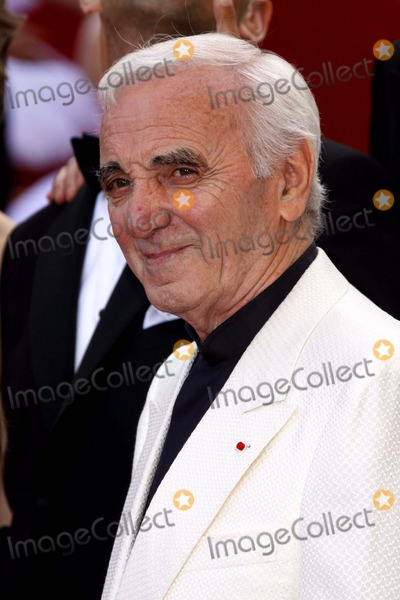 Charles Aznavour Photo - Up Premiere at the 2009 Cannes Film Festival at Palais Des Festival Cannes France 05-13-2009 Photo by Alec Michael-Globe Photos Inc 2009 Charles Aznavour
