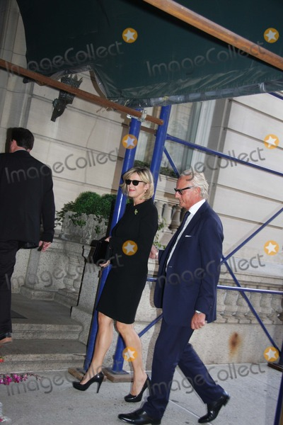 Joan Rivers Photo - Shiva at Joan Rivers Apartment in New York City on Sunday September 7th 2014 Photo by William Regan- Globe Photos Inc 2014 Deborah with Her Husband Karl Wellner Shiva at Joan Rivers Apartment in New York City on Sunday September 7th 2014 Photo by William Regan- Globe Photos Inc