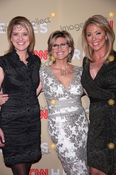 Ashleigh Banfield Photo - The Eighth Annual Cnn Heroes All Star Tribute the Museum of Natural History NYC November 18 2014 Photos by Sonia Moskowitz Globe Photos Inc 2014 Christine Romans Brook Baldwin Ashleigh Banfield