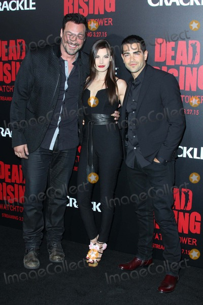 Aleks Paunovic Photo - Aleks Paunovic Meghan Ory Jesse Metcalfe Attend Dead Rising Watchtower Los Angeles Premiere on March 11th 2015 at Sony Studios in Culver City California UsaphotoleopoldGlobephotos