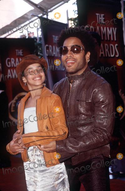 Lenny Kravitz Photo - 42nd Grammy Awards Staples Center LA CA 022200 Lenny Kravitz and Daughter Photo by Sara JayeGlobe Photos Inc