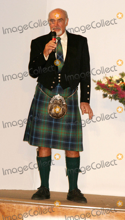 Sean Connery Photo - Sean Connery Host Dressed to Kilt Honoring the Friends of Scotland at Sotheby  New York City 04052004 Photo by Rick Macklerrangefinder Globe Photos Inc Sean Connery