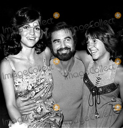 Burt Reynolds Photo - Sally Field Burt Reynolds and Kristy Mcnichols (2566) 1977 Nate CutlerGlobe Photos Inc