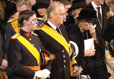 Paola De Belgique Photo - Funeral of Grande Duchesse Josephine Charlotte DE Luxembourg 01-15-2005 Prince Guillaume DE Luxembourg Albert Et Paola DE Belgique Photo by Christophe Olinger - Omedias -Globe Photos