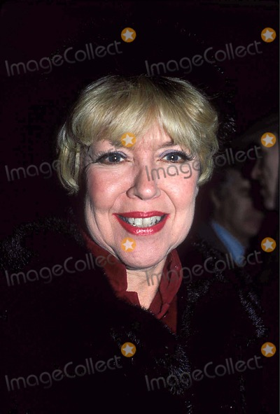 Dorothy Loudon Photo - Photo Jonathan Green Globe Photos Inc 1986 Dorothy Loudon Dorothyloudeonretro