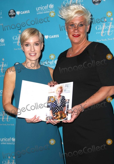 Anne Burrell Photo - Unicef and Hsn Host Event to Celebrate the Launch of the Cookbook Unichef Assembled by Hilary Gumbel the Lambs Club NYC September 15 2014 Photos by Sonia Moskowitz Globe Photos Inc 2014 Hilary Gumbel Anne Burrell