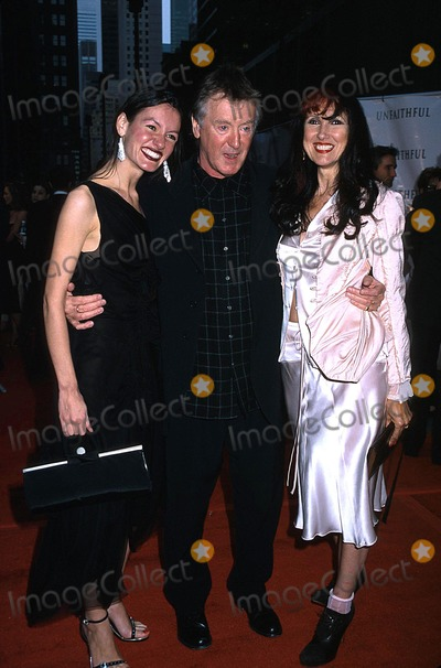 Adrian Lyne Photo -  5602 the Unfaithful Film Premiere at the Ziegfeld Theater in NYC Adrian Lyne with His Daughter Amy and Wife Samantha Photo by Sonia MoskowitzGlobe Photos Inc