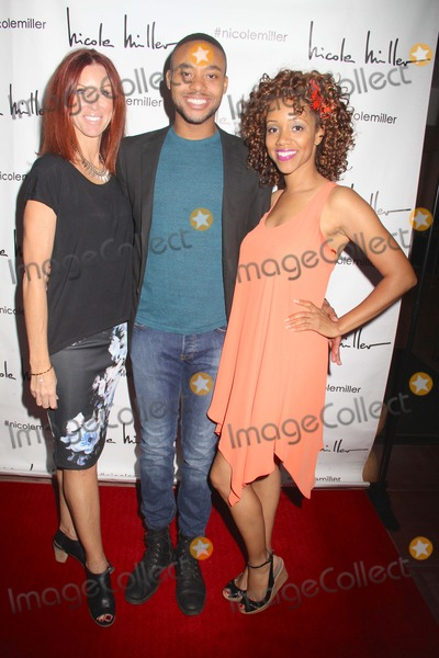 Chrystee Pharris Photo - Natasha Mccreas Evolution of a Love Addict Book Launch Cocktail Party Hosted by Chrystee Pharris Nicole Miller Store West Hollywood CA 10222014 Jordan Phillips and Chrystee Pharris Clinton H WallaceGlobe Photos Inc
